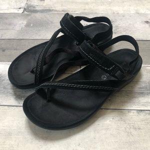 Merrell Femmes Black Sandals Excellent Condition